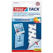 TESA 59408-00000 pin/tack Transparent 72 pc(s)
