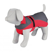 TRIXIE 30272 dog/cat outerwear Grey, Red Polyester Raincoat