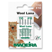 Madeira 9452 sewing needle 5 pc(s) Sewing machine Stainless steel Embroidery needle