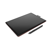 Wacom One by Small, Wired, 2540 lpi, 152 x 95 mm, USB, Pen, Black