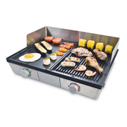 Solis 979.44 outdoor barbecue/grill Tabletop Electric Stainless steel 2200 W