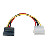 EFB Elektronik K5380.015V1 SATA cable 0.15 m SATA 15-pin Black, Red, Yellow