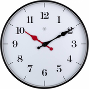 NeXtime 7326 wall clock Quartz wall clock Circle White