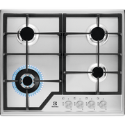 Electrolux LGS6436SX hob Stainless steel Built-in 60 cm Gas 4 zone(s)