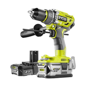 Ryobi R18PD7-252S 1800 RPM Keyless 1.7 kg Black, Yellow