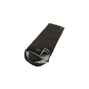 Outwell CAMPER LUX Adult Rectangular sleeping bag Cotton, Polycotton, Polyester Black, Grey