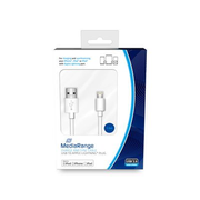 MediaRange MRCS178 lightning cable 1 m White