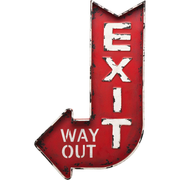 KARE Design Wall Decoration Exit
