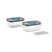 Bosch MSZV0FC2 food storage container Rectangular Box Black, Blue, Transparent 2 pc(s)