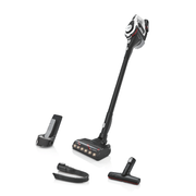 Bosch Serie 8 BKS8214W stick vacuum/electric broom Bagless Black, White