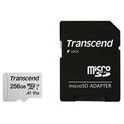 Transcend microSD Card SDXC 300S 256GB with Adapter