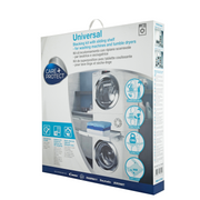 Hoover Care+Protect Universal Stacking Kit with Sliding Shelf for Washing Machines & Dryers