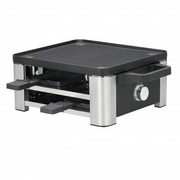 WMF 61.3024.5155 raclette grill 4 person(s) Black, Stainless steel