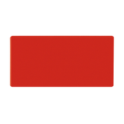 Legamaster magnetic symbol rectangle 20x30mm red