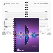 Biella mydiary writing notebook 178 sheets Purple