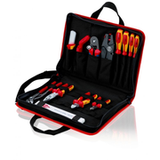 Knipex 00 21 11 tool storage case Black, Red Polyester