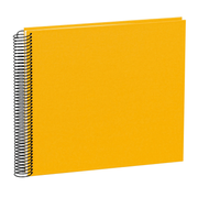 Semikolon Spiral photo album Cream, Orange 40 sheets