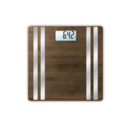 Medisana BS 552 Rectangle Bamboo, Silver Electronic personal scale