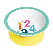 Mila Design Numbers Toddler plate
