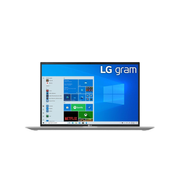 "LG Gram 17Z90P-G.AA56G notebook DDR4-SDRAM 43.2 cm (17"") 2560 x 1600 pixels 11th gen Intel® Core™ i5 16 GB 512 GB SSD Wi-Fi 6 (802.11ax) Windows 10 Home Silver"