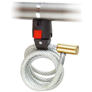 KLICKfix Mini Adapter with holder for cable locks