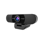 eMeet C960 HD Webcam (2 AI Array Microphones including echo and noise cancellation, automatic light correction, universal clip and tripod compatible, 1080p at 30 FPS, 90° wide angle)