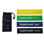 Tunturi 14TUSYO016 exercise band Light - Medium - Heavy Black, Blue, Green, Yellow