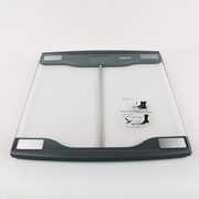 Feel-Maestro MR1826 personal scale Square Transparent Electronic personal scale