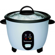 Techwood TCR-256 rice cooker 2.5 L 850 W White