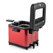 Kitchen Cook FR1010 Single Stand-alone 900 W Deep fryer Red