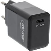 InLine 31500B mobile device charger Black