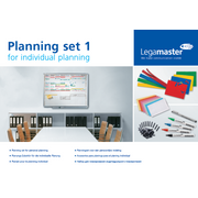 Legamaster planning set 1 for personal planning