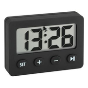 TFA-Dostmann Digital alarm clock with timer and stopwatch