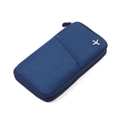 TROIKA Safe Flight makeup/manicure case Blue Polyester