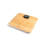 Little Balance Kinetic Premium blanche Square Wood Electronic personal scale