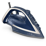 Calor FV6830C0 iron Dry & Steam iron Durilium AirGlide soleplate 2800 W Blue, Silver