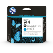 HP 744 Photo Black/Cyan DesignJet Printhead