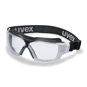 Uvex 9309275 safety eyewear Safety glasses Black, White