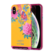 """Tech21 Evo Luxe (Liberty Elysian) mobile phone case 16.5 cm (6.5"""") Cover Pink, Yellow"""