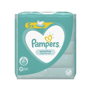Pampers Feuchte Tücher Sensitive - Vorteilspack 5 x 52 Stk.