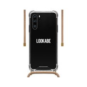 Lookabe Necklace Case transparent-nude - für Huawei P30+, Kordel nude