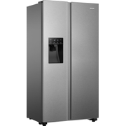 Hisense RS694N4TIE side-by-side refrigerator Freestanding 562 L E Stainless steel