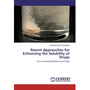 Recent Approaches for Enhancing the Solubility of Drugs
