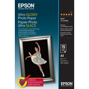 Epson Ultra Glossy Photo Paper - A4 - 15 Sheets, Gloss, 300 g/m², A4, 15 sheets, - Expression Premium XP-900 - Expression Premium XP-630 - Expression Premium XP-610 - Expression..., 1 pc(s)