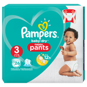 Pampers 81666620 disposable diaper Boy/Girl 3 26 pc(s)