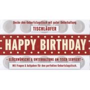 Tischläufer - Dots Happy Birthday