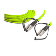 Lightwin LDP-50 LC-LC 15.0 OM5 fibre optic cable 15 m Yellow