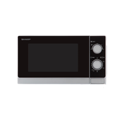 Sharp Home Appliances R-200INW microwave Countertop Solo microwave 20 L 800 W Silver