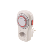Steffen 1204406 electrical timer White Daily timer