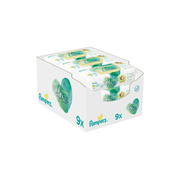Pampers Coco Pure Feuchttücher - Megapack / 9 x 42 Stk.